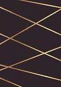 Dark background with golden lines.
