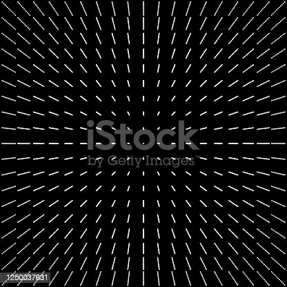 Vector Illustration with a Modern and Elegant Abstract Perspective with Geometric Circle Shapes Textures
