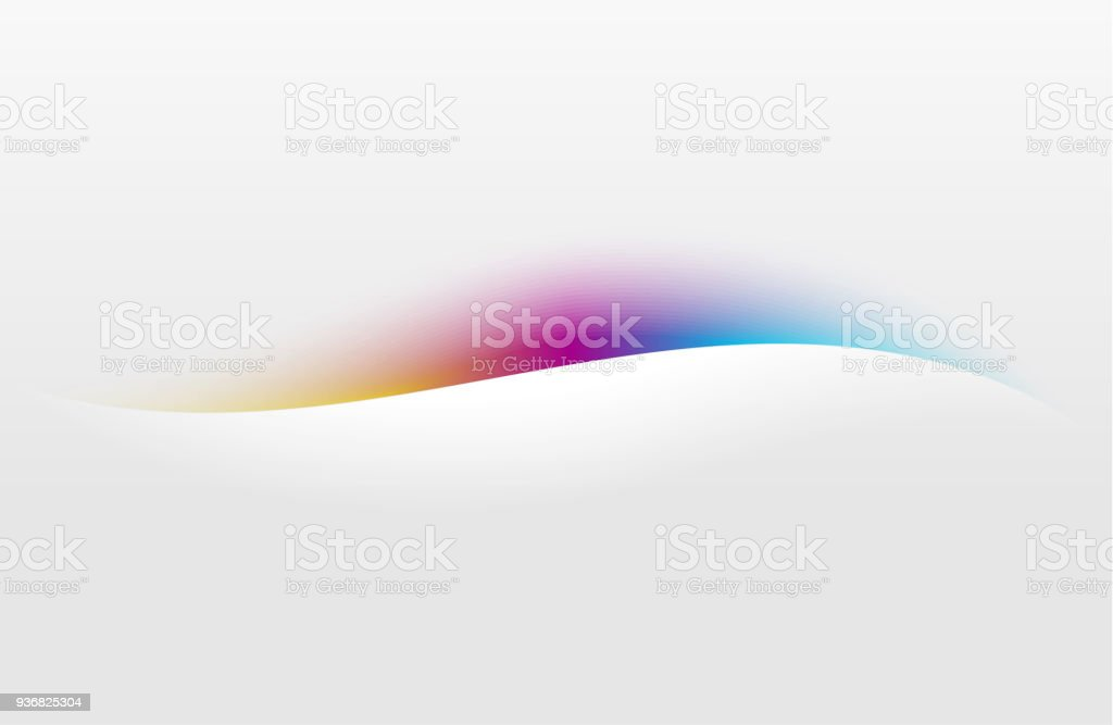 modern abstract wavy background for design of flyer, banner, cover, card vector art illustration