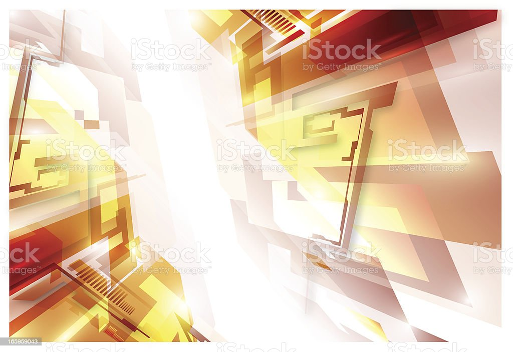 Modern abstraction royalty-free stock vector art