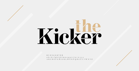 Modern alphabet letters font and number. Elegant Classic Urban Lettering Minimal Fashion Designs. Typography fonts uppercase lowercase and numbers. vector illustration
