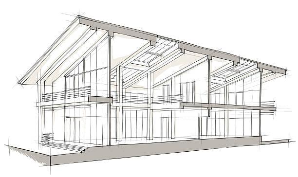 L'architecture - Illustration vectorielle