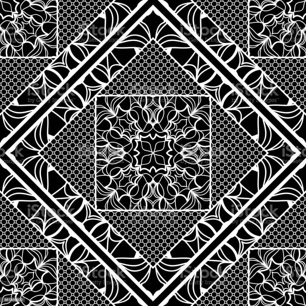 Modern Art Deco Seamless Pattern Floral Element Vector Illustration Web Texture Stock Illustration Download Image Now