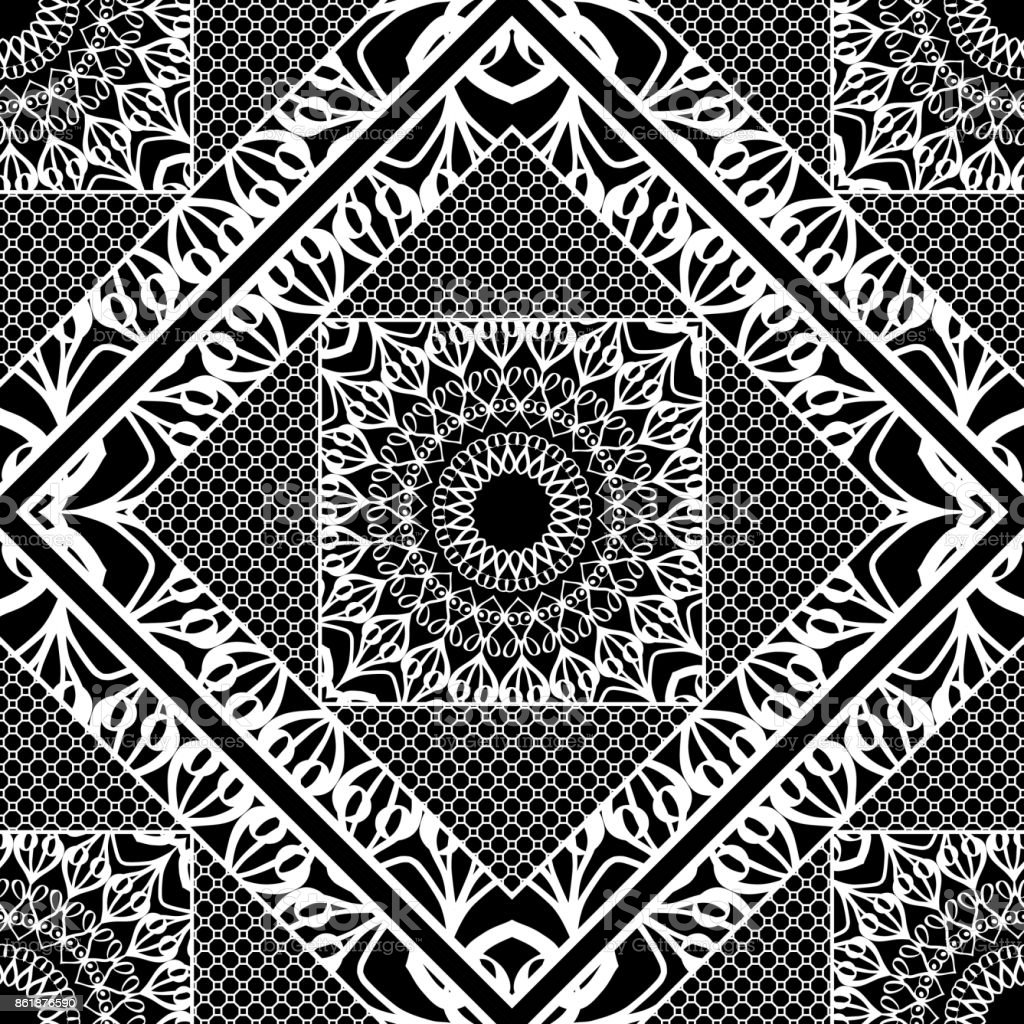 modern artdeconahtlose muster florale element vektorillustration webtextur stock vektor art und. Black Bedroom Furniture Sets. Home Design Ideas