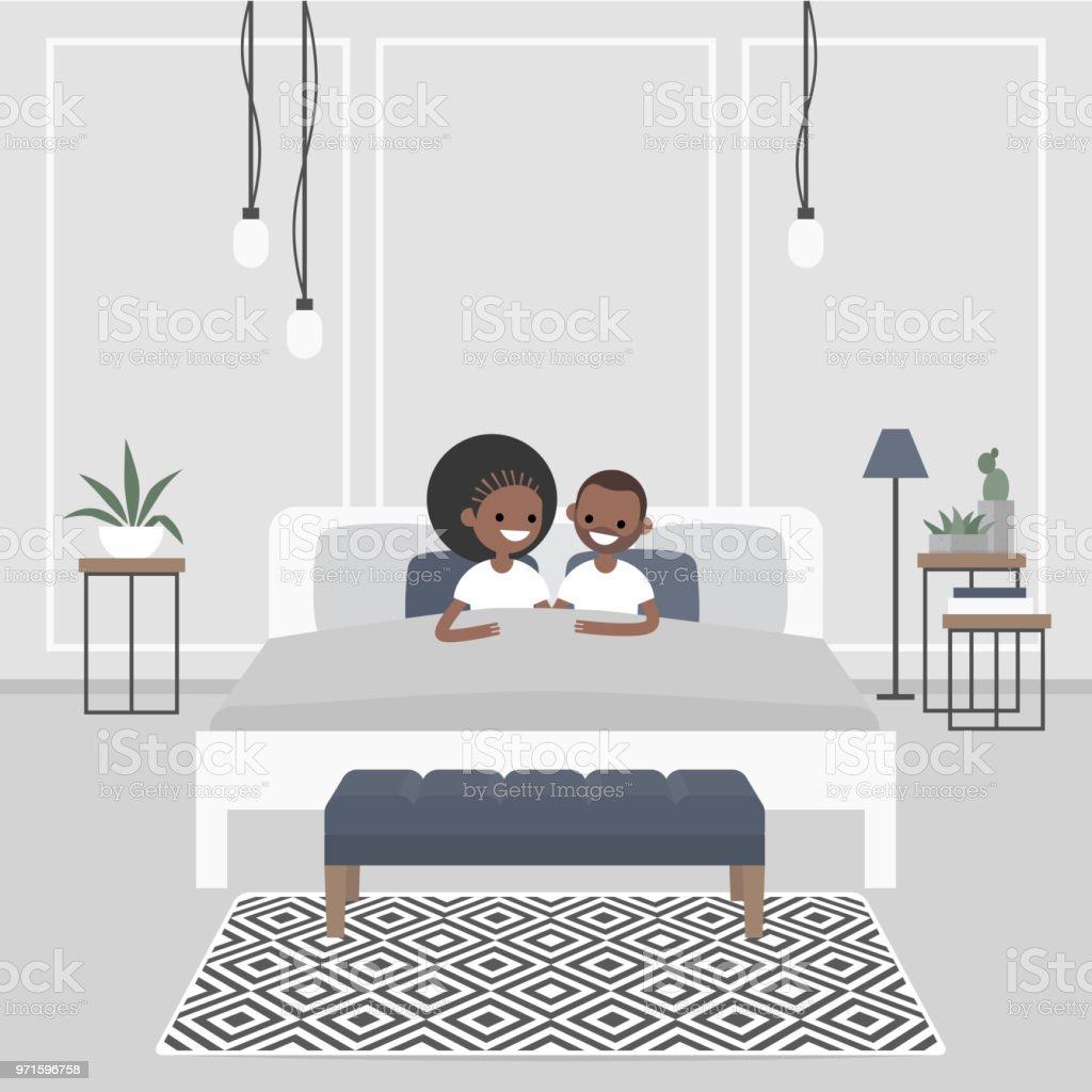 Chambre De Jeune Adulte intérieur de chambre À coucher moderne couple de jeunes