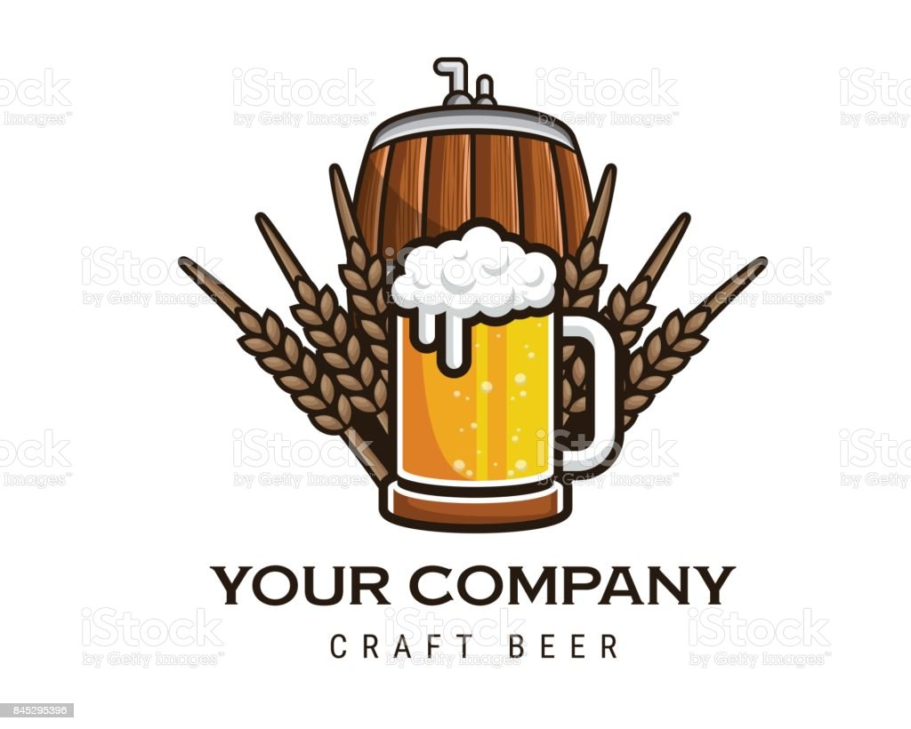 Modern Beer And Brewery Emblem Icon Design Royaltyfree Modern Beer And  Brewery Emblem Icon.