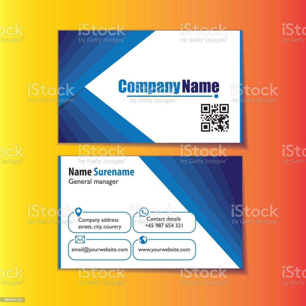 modern blue name card modern blue name card - stockowe grafiki wektorowe i więcej obrazów abstrakcja royalty-free