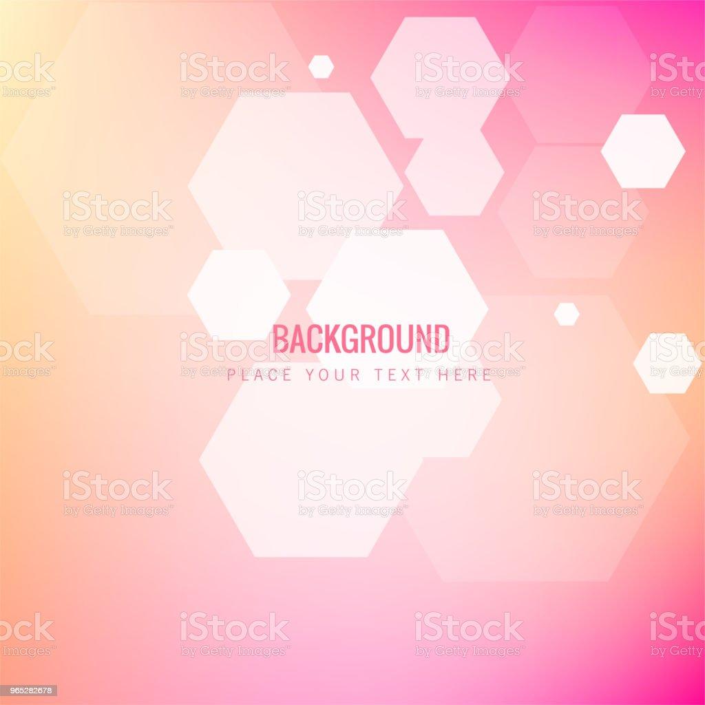 Modern Blur Honeycomb Pink Background Vector Image modern blur honeycomb pink background vector image - stockowe grafiki wektorowe i więcej obrazów abstrakcja royalty-free