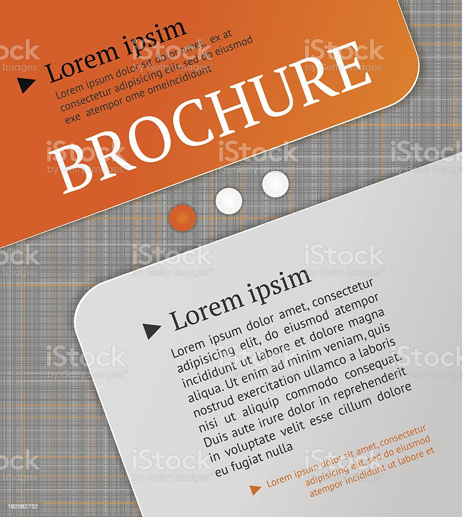 Modern brochure design template. royalty-free modern brochure design template stock vector art & more images of backdrop