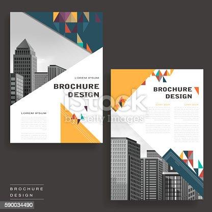modern brochure design stock vector art more images of advertisement 590034490 istock
