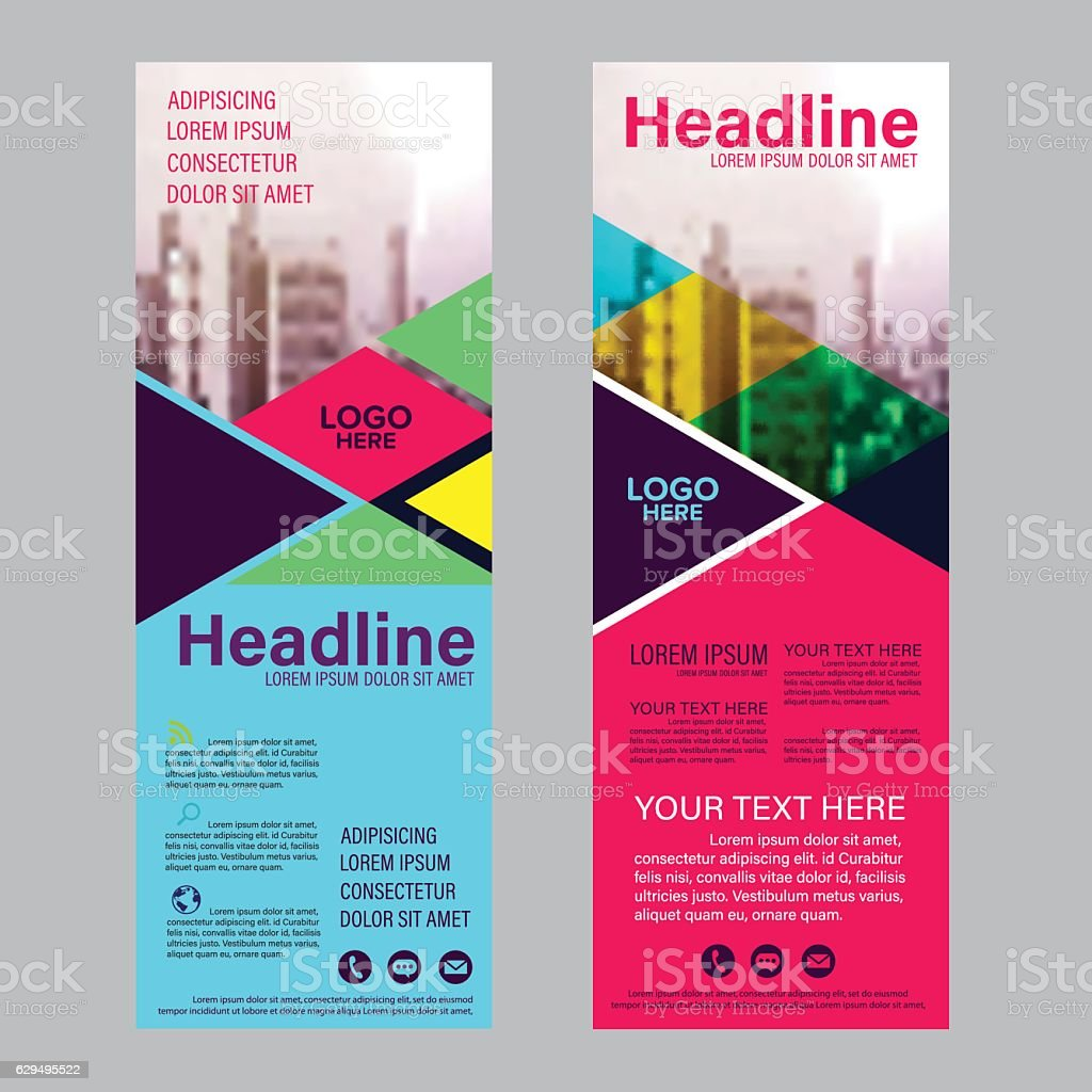 modern brochure layout flyer design template vector illustration