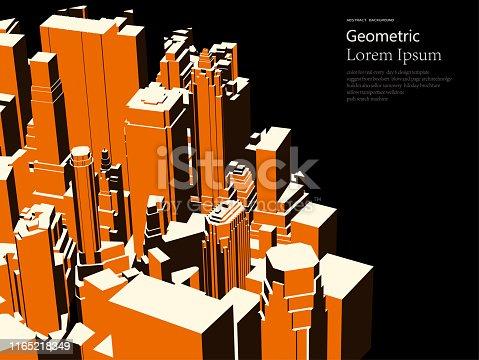 istock modern building model pattern poster 1165218349