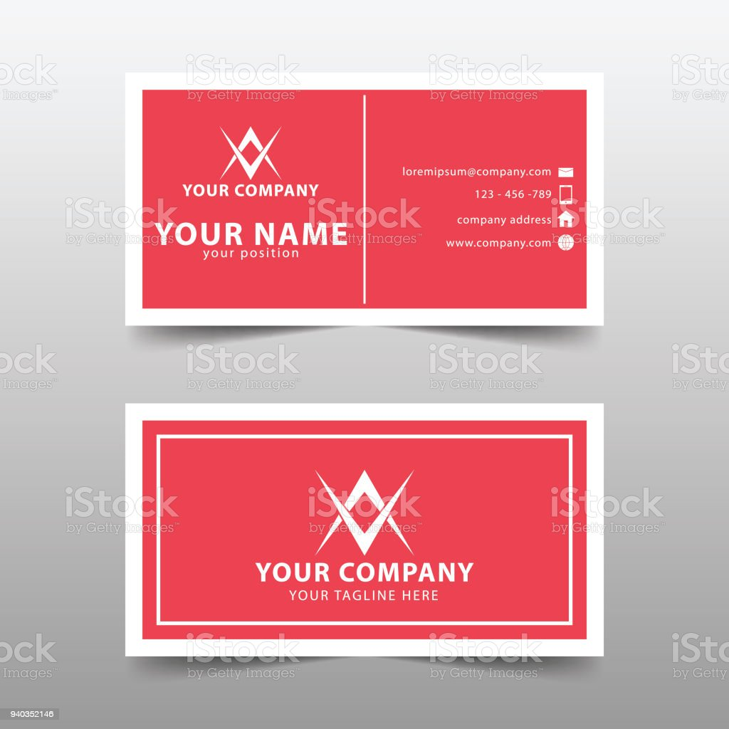 Modern business card template modern simple business card set modern business card template modern simple business card set royalty free modern business card colourmoves