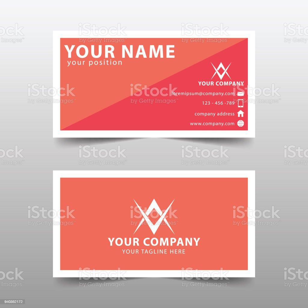 Modern business card template modern simple business card set stock modern business card template modern simple business card set royalty free modern business card colourmoves