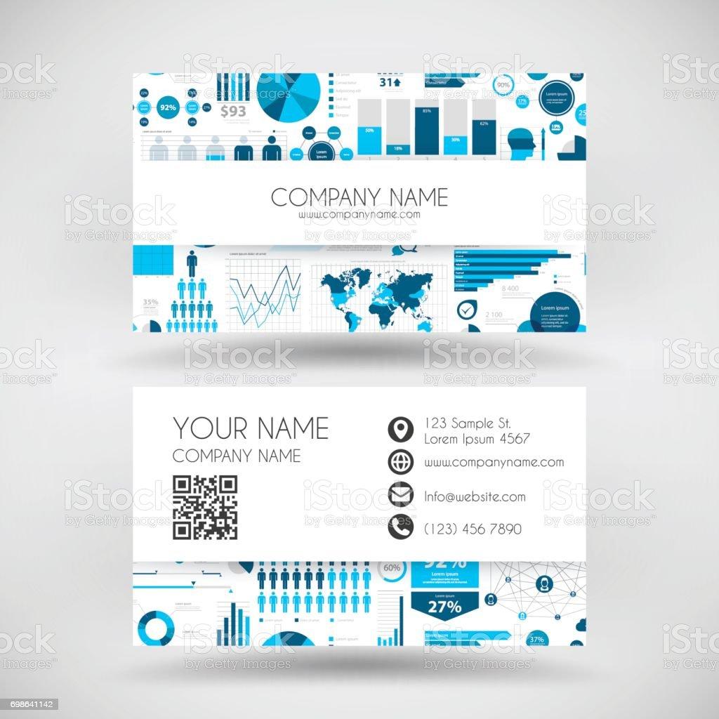 Adresse Internet Carte De Visite Diagramme En Camembert Document Donne