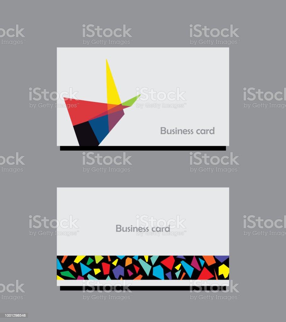 Modern business card stock vector art more images of abstract modern business card royalty free modern business card stock vector art amp more images reheart Images