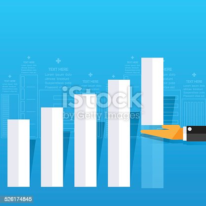 istock Modern business concepts in flat design 526174845