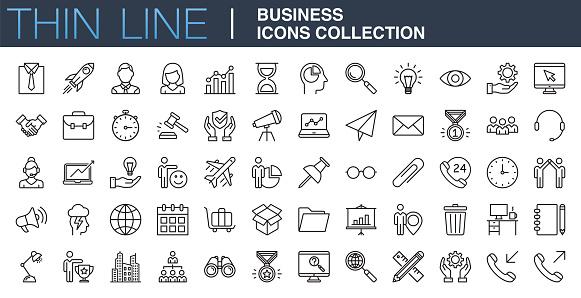 icons icon set stock illustrations