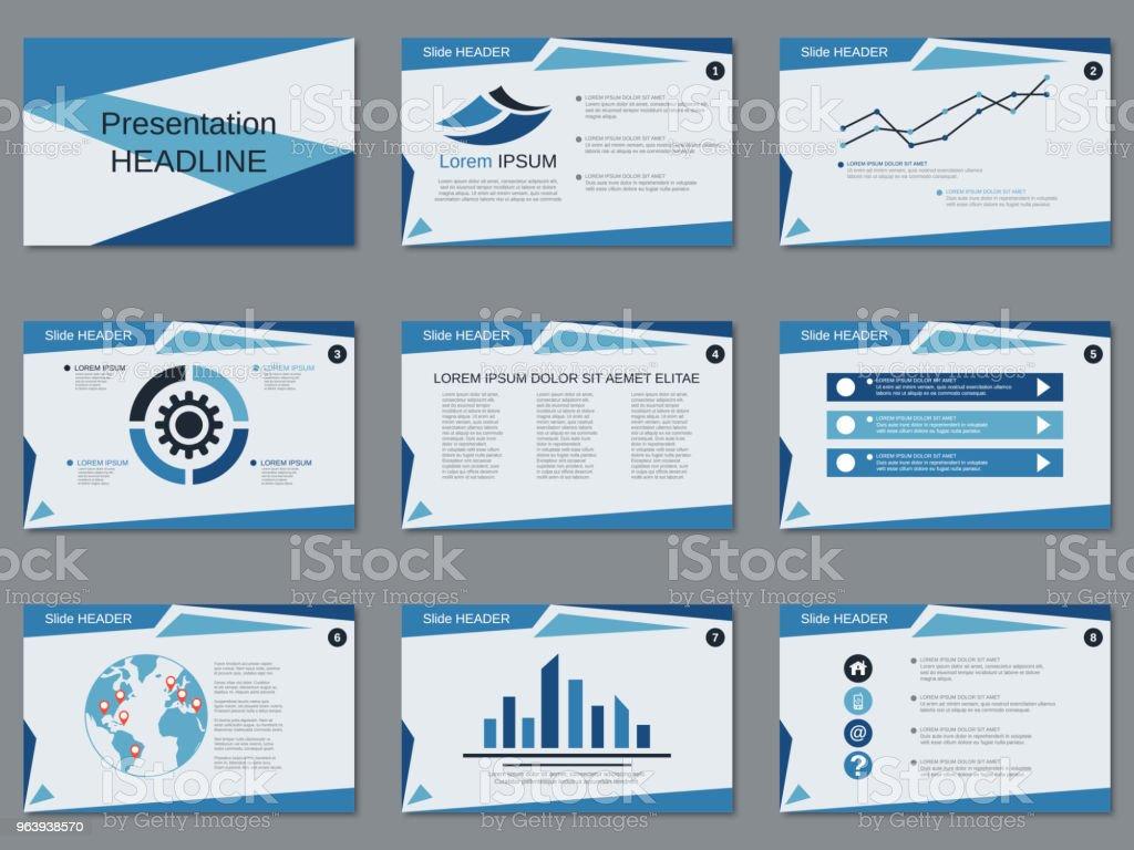 Vetores De Modelo De Vetor De Apresentação Empresarial