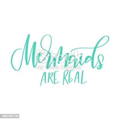 ᐈ Imagen De Frase De La Caligrafía Moderna Sobre Las Sirenas