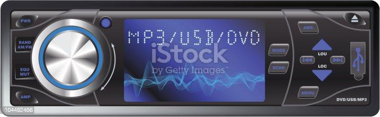 istock Modern Car Audio 104462456