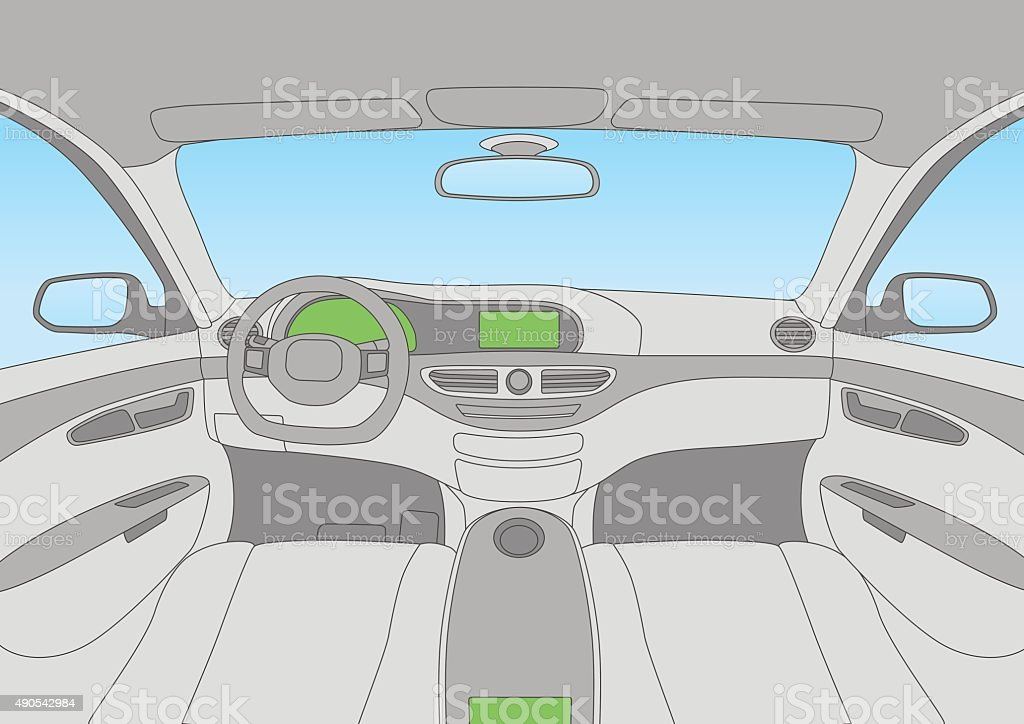 Modern car cockpit stock vector art more images of 2015 490542984 modern car cockpit royalty free modern car cockpit stock vector art amp more images malvernweather Image collections
