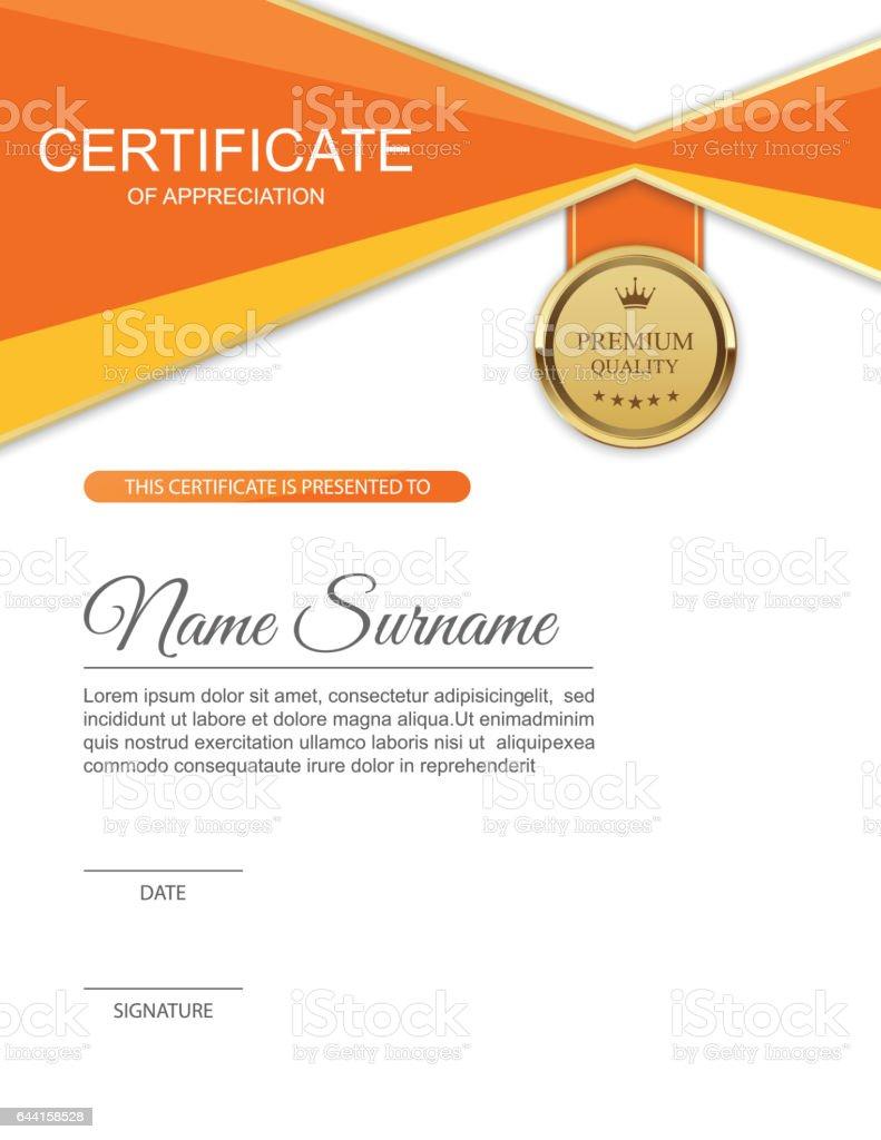 Modern certificate template design vector stock vector art more modern certificate template design vector royalty free modern certificate template design vector stock vector yelopaper Image collections