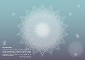Modern chakra background