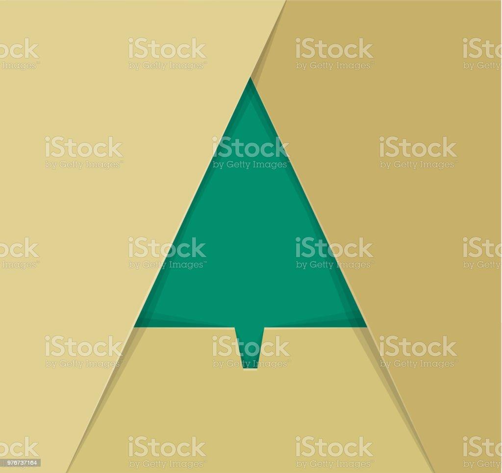 Moderner Weihnachtsbaum.Moderner Weihnachtsbaum Stock Vektor Art Und Mehr Bilder Von