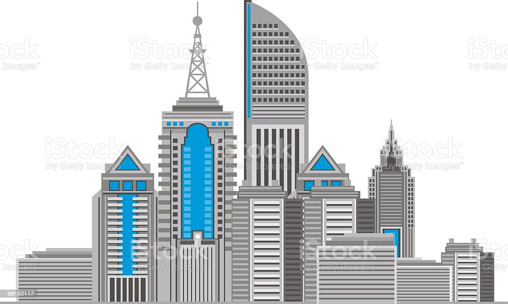 modern city buildings background royalty-free modern city buildings background stock vector art & more images of architecture