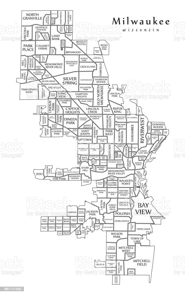 Modern City Map Milwaukee Wisconsin City Of The Usa With ... on satellite maps of wisconsin, sports of wisconsin, frogs of wisconsin, the state of wisconsin, people of wisconsin, geography of wisconsin, menominee indian tribe of wisconsin, art of wisconsin, government of wisconsin, lakes of wisconsin, state flower of wisconsin, culture of wisconsin, blood center of wisconsin, google maps wisconsin, fish of wisconsin, economy of wisconsin, atlas of wisconsin, cities of wisconsin, demographics of wisconsin, all cities in wisconsin,