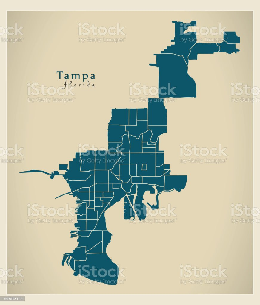 Map Of Tampa Florida And Surrounding Cities on