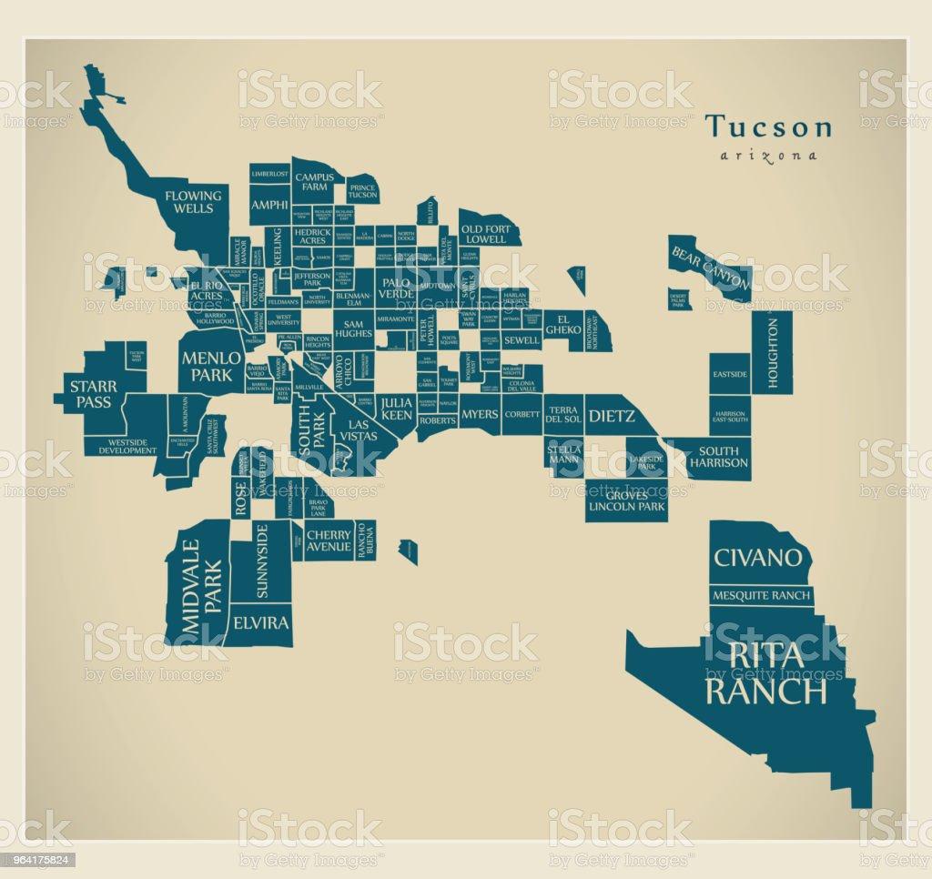 City Map Of Arizona on