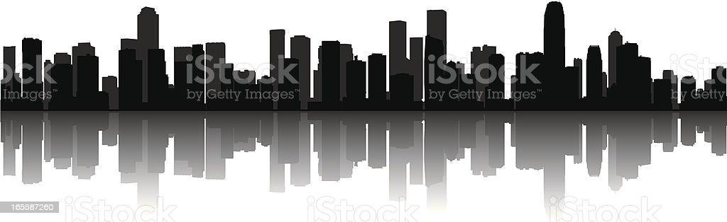 Modern Cityscape vector art illustration