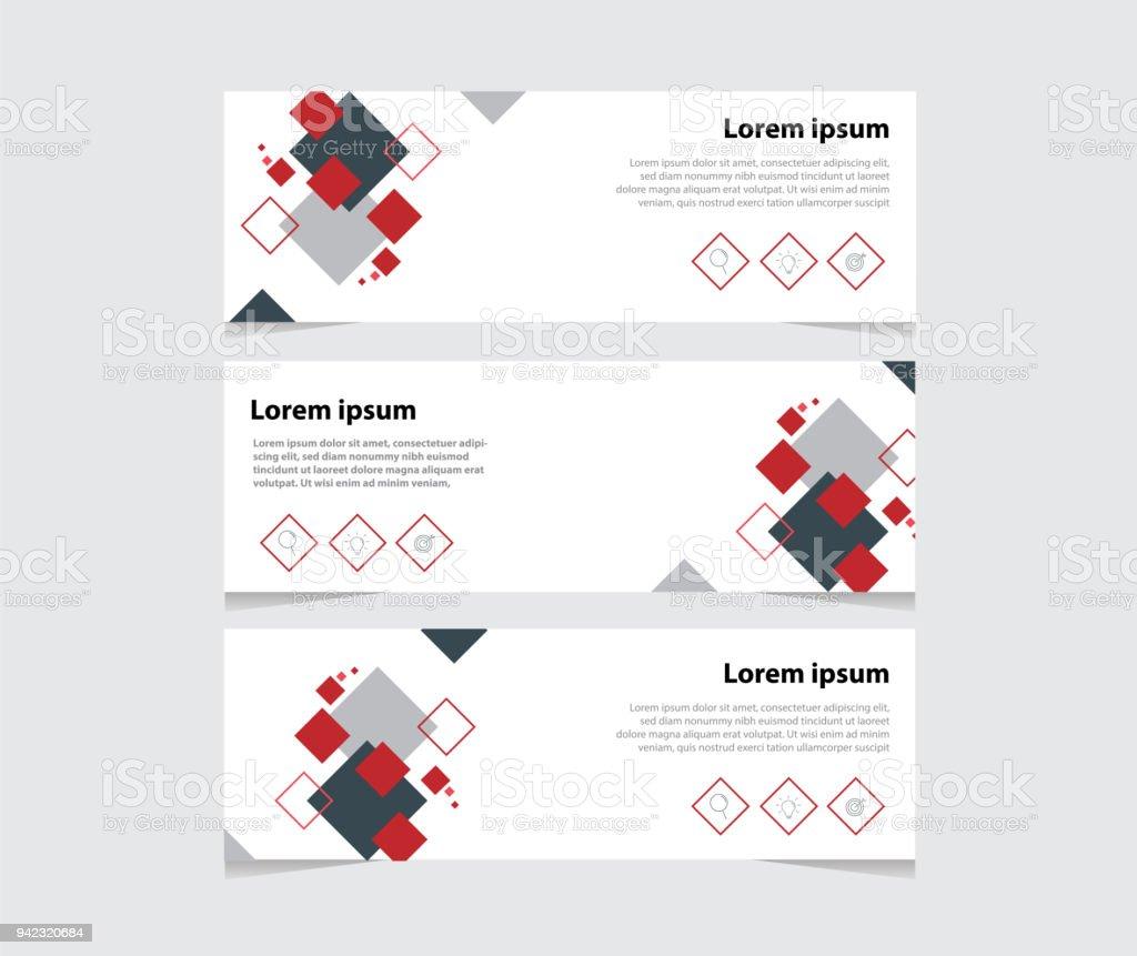 Moderne Saubere Visitenkarte Vektor Abstrakte Kopf Oder
