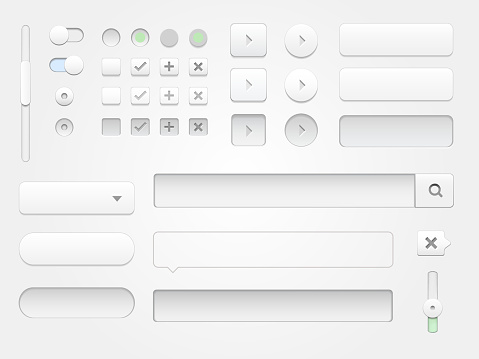 Modern collection of web elements for your multimedia projects.
