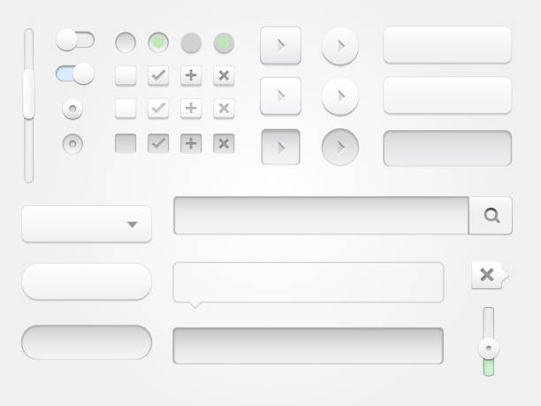 modern collection of web elements for your multimedia projects. - 按鈕 幅插畫檔、美工圖案、卡通及圖標