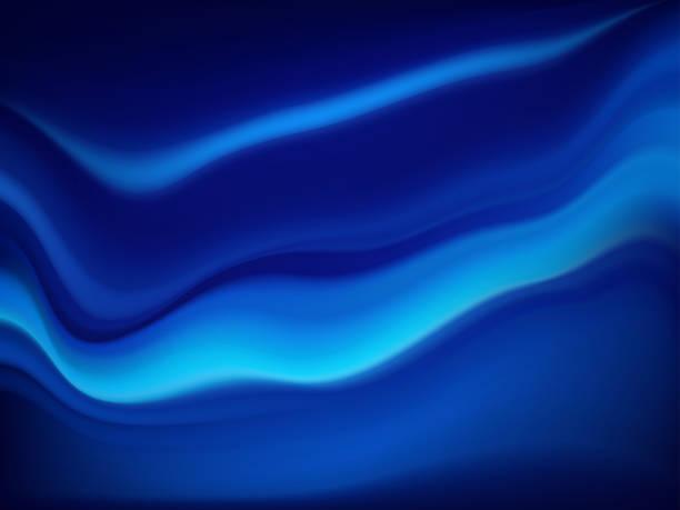 illustrazioni stock, clip art, cartoni animati e icone di tendenza di modern colorful flow poster. wave liquid shape color background. art design for your design project. - aurora polare