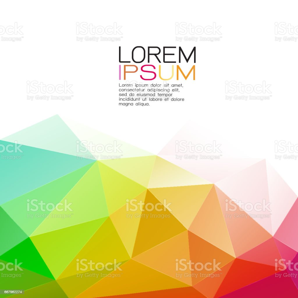 Modern colorful geometric template on below part and white space modern colorful geometric template on below part and white space for text modern background for jeuxipadfo Choice Image