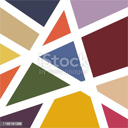 istock modern colorful  mosaic tile wallpaper background vector 1195191088