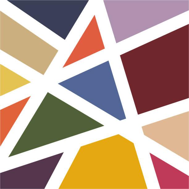 modern colorful  mosaic tile wallpaper background vector modern colorful  mosaic tile wallpaper background vector mosaic stock illustrations