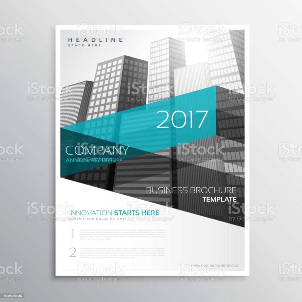 modern company brochure template presentation アイデンティティーの