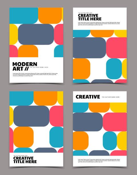 Modern cover design vector art illustration
