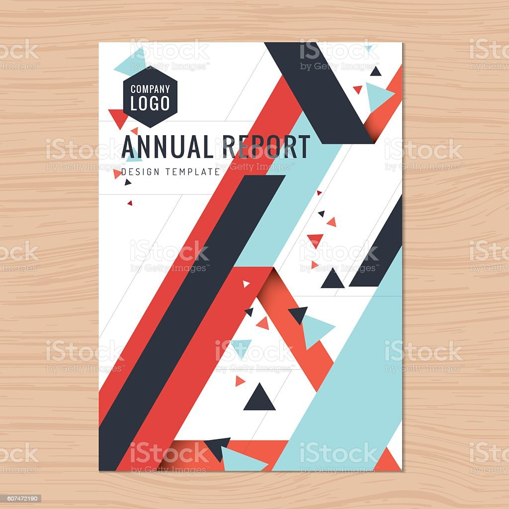 Business Book Cover Art : Modern cover for business annual report brochure leaflet