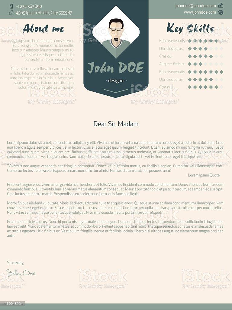 Illustration Cover Letter