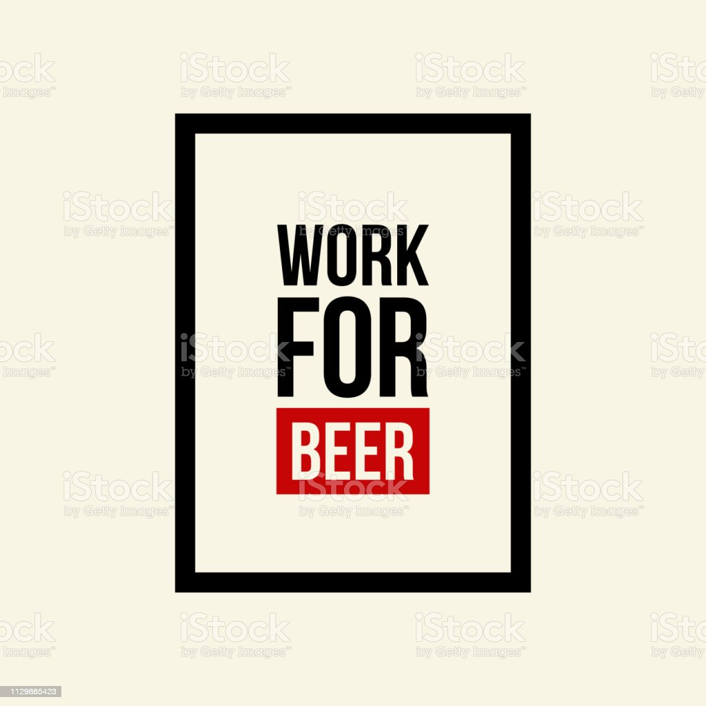 Modern Craft Beer Drink Vector Logo Sign For Bar Pub Store Brewhouse