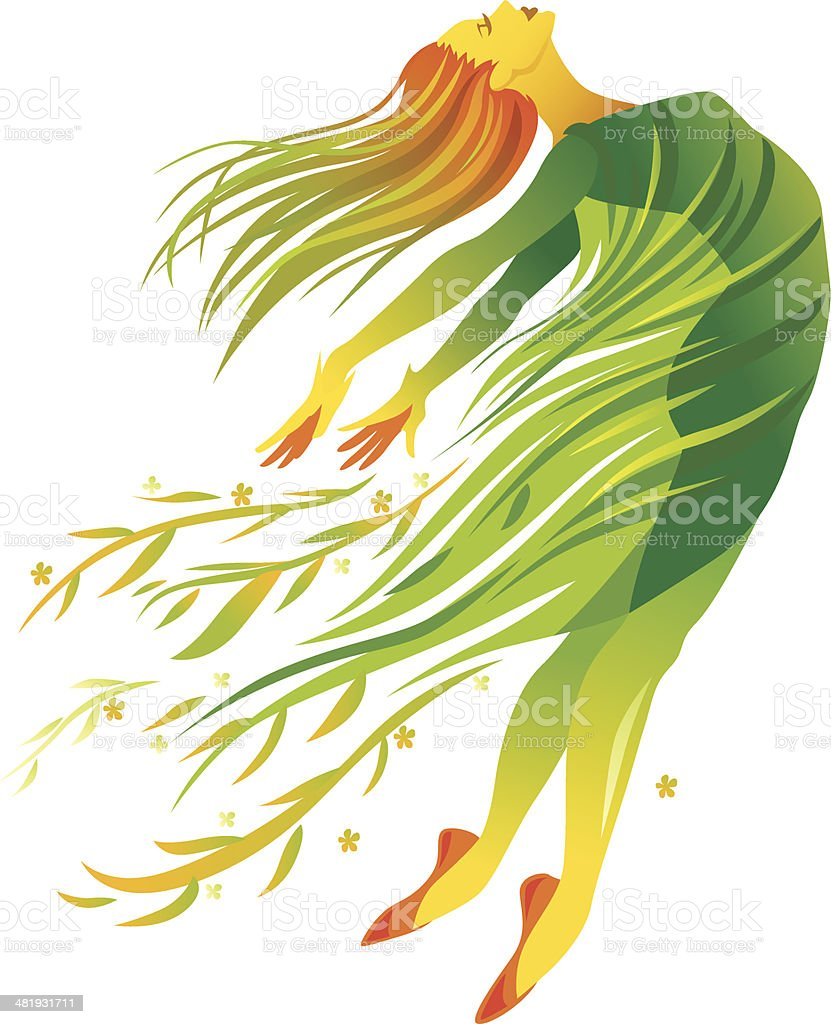 Modern Dance Spring royalty-free modern dance spring stock vector art & more images of abstract