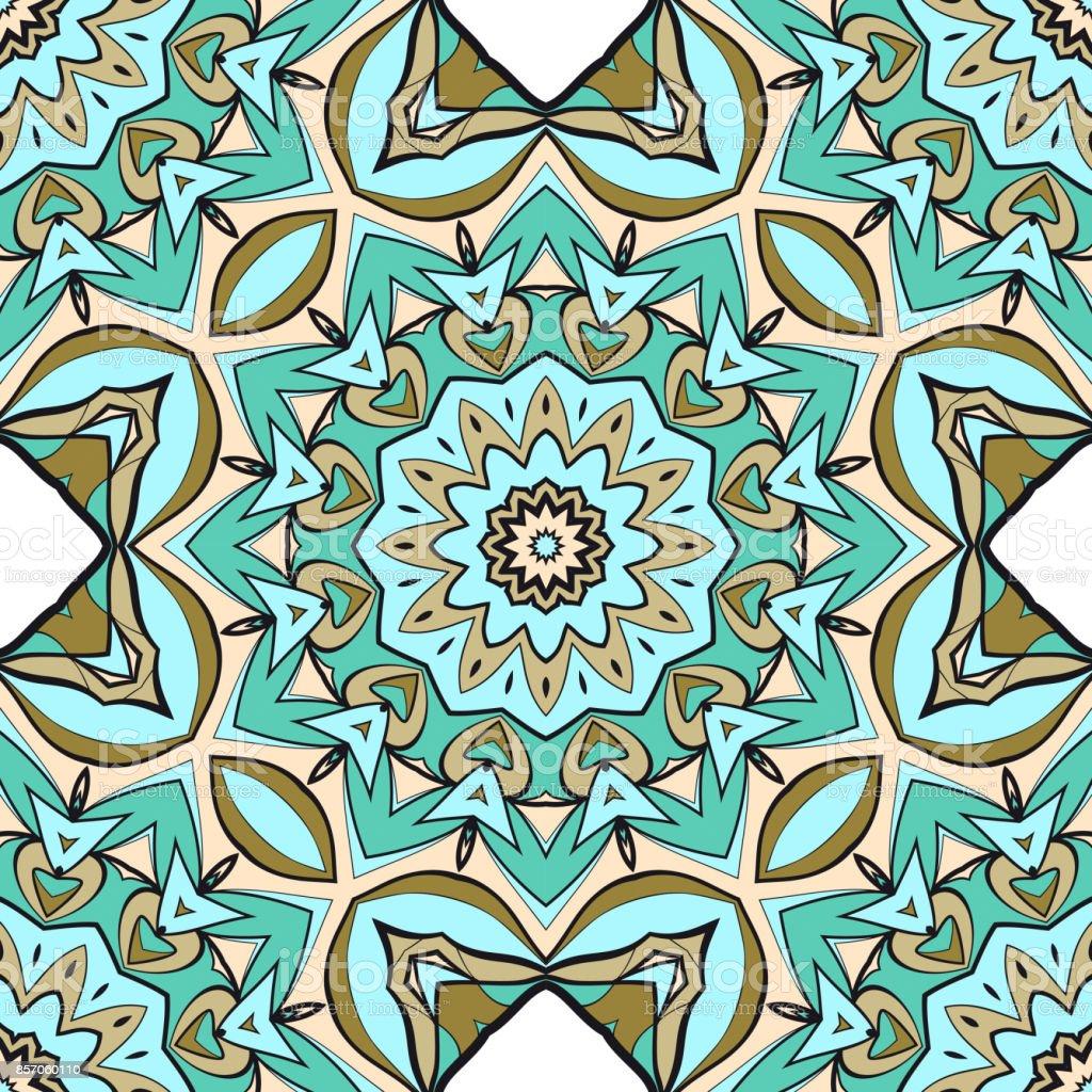Modern decorative floral mandala pattern luxury texture for modern decorative floral mandala pattern luxury texture for wallpaper invitation decor fabric stopboris Image collections