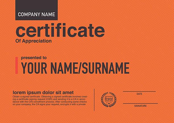 Modern design certificate. Modern design certificate. banking borders stock illustrations