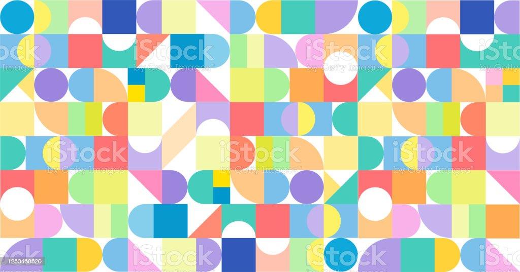 Modern Design Diversity Promo Banner Vector Design - arte vettoriale royalty-free di Affari